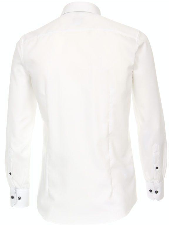 Venti luxe overhemd wit met bloemenmotief strijkvrij 113726100-001 (2)