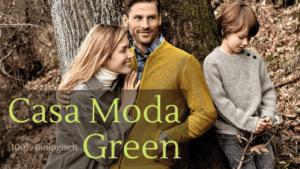 Casa Moda Green collectie gemaakt van 100% biologisch katoen
